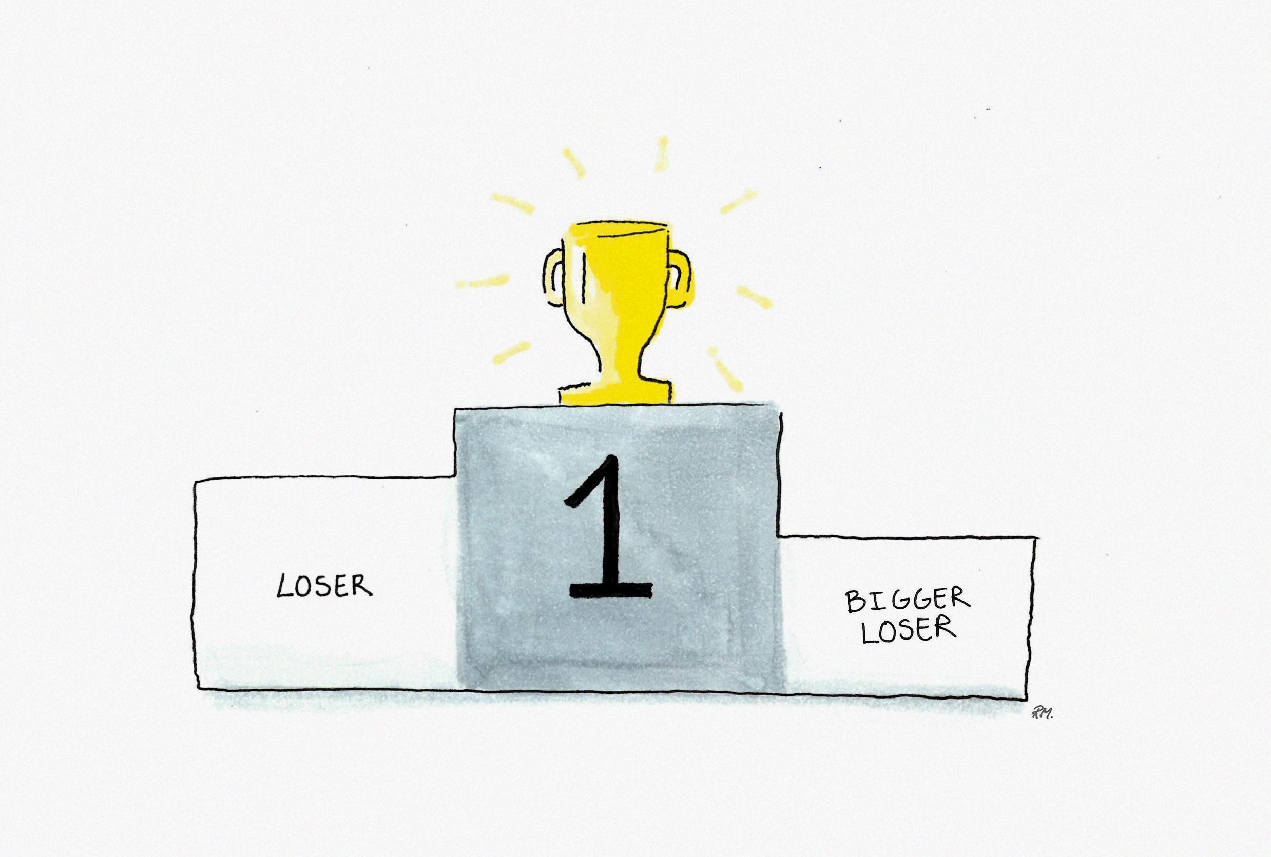 Konkurrence indbyrdes mellem afdelingerne skaber flere tabere end vindere